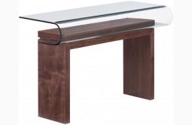 Mystic Walnut Console Table