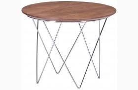 Macho Walnut Side Table