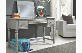 Summer House Youth Dove Gray Vanity Desk