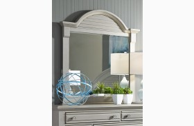 Summer House II Gray Mirror
