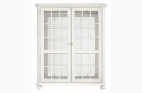 Coastal Living Saltbox White Newport Storage Cabinet