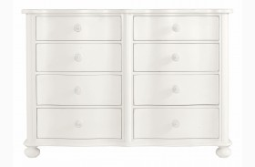 Coastal Living Saltbox White Weekend Dresser