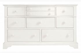 Coastal Living Saltbox White Getaway Dresser