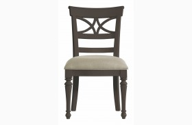 Coastal Living Gloucester Grey Sea Watch Side Chair