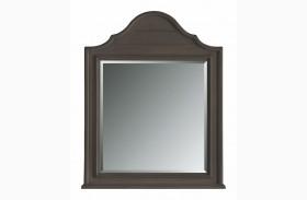 Coastal Living Gloucester Grey Arch Top Mirror