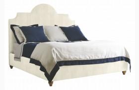 Coastal Living Irish White Herringbone Breach Inlet Queen Bed