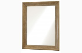 Moderne Muse Bisque Mirror