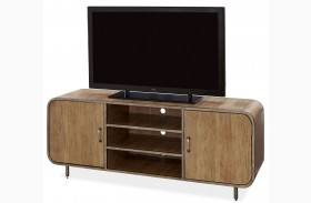 Moderne Muse Bisque Waterfall Media Console