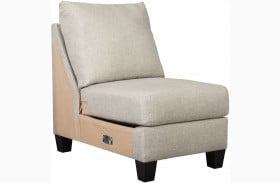 Hallenberg Fog Armless Chair