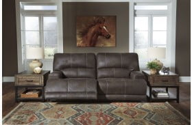 Kitching Java Power Reclining Adjustable Headrest Sofa