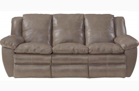 Aria Smoke Lay Flat Reclining Sofa
