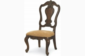 La Bella Vita Splat Back Side Chair Set of 2