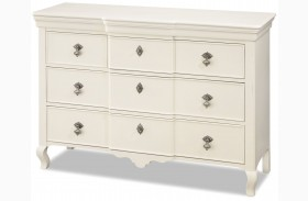 Genevieve French White Genevieves Dresser