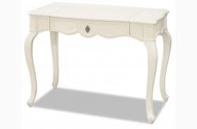 Genevieve French White Vanity Desk