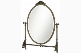 Genevieve French White Mademoiselle Mirror