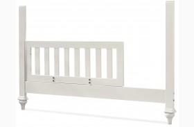 Genevieve French White Toddler Rail
