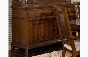 Estes Park Artisan Oak Sideboard