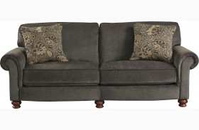 Downing Charcoal Loveseat