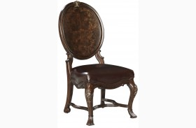 Casa D'Onore Sella Wood Side Chair