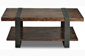Timber Forge Cocktail Table