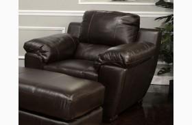 Sergio Mahogany Chair and Half