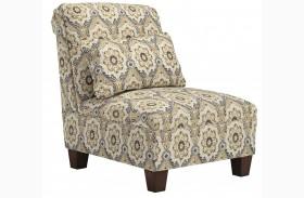 Emelen Alloy Armless Chair