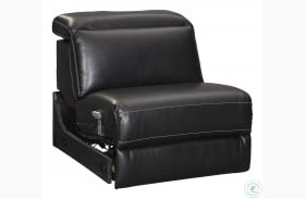 Mantonya Midnight Armless Power Recliner