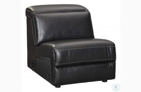 Mantonya Midnight Armless Chair