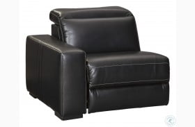 Mantonya Midnight LAF Zero Wall Power Recliner