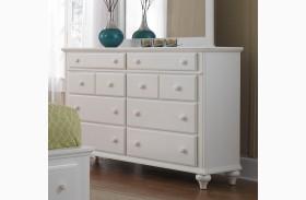 Hayden Place White Drawer Dresser