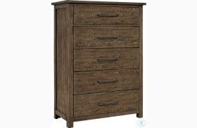Sonoma Road Beaten Bark 5 Drawer Chest