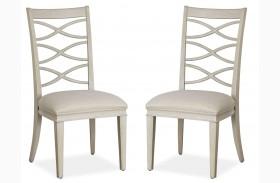 California Malibu X-Back Side Chair Set of 2