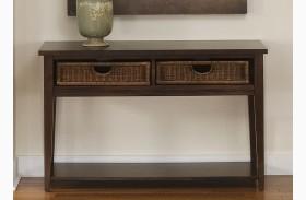 Lakewood Basket Sofa Table