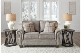 Olsberg Steel Loveseat