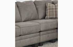 Olsberg Steel Armless Chair