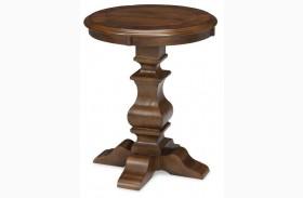 Lyla Round Lamp Table