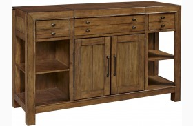 Bethany Square Brown Sideboard