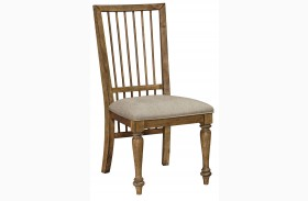 Bethany Square Brown Studio Side Chair Set of 2