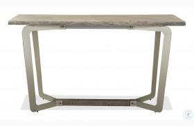 Waverly Sandblasted Gray Console Table