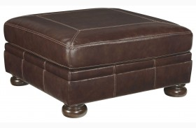 Banner Coffee Oversized Accent Ottoman