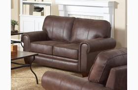 Bentley Brown Loveseat