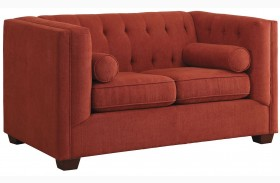 Cairns Crimson Loveseat