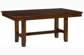 Plantation Adjustable Height Extendable Counter Height Table