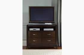 Avalon Dark Truffle Media Chest