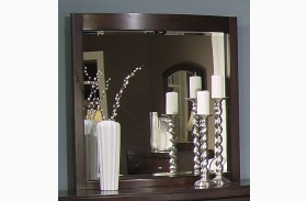 Avalon Dark Truffle Lighted Mirror