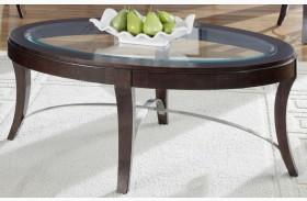 Avalon Oval Cocktail Table