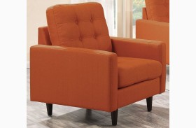 Kesson Orange Chair