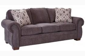 Cambridge Walnut Chenille Fabric Sofa