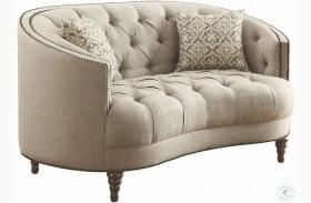 Avonlea Stone Grey Sofa From Coaster Coleman Furniture
