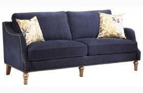 Vessot Ink Blue Sofa